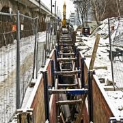 Gigant Allround Verbausysteme: Kanalbau Winter (2)