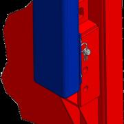 Multiadapterschienen mit Aufstock160 plus hohem Durchgang