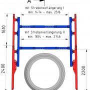 Multibox mit Aufstock160 und Hohen Durchgang zugeschnitten