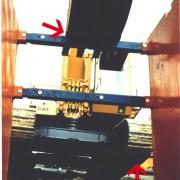 Rechteckstreben heben Bagger, Allround Verbausysteme, Kanalbau